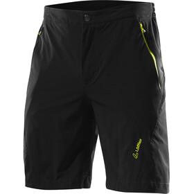 Löffler Comfort CSL Bike Shorts Herren schwarz/zitrone